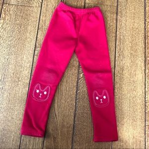Girls Sweatpants with Knee Patches
